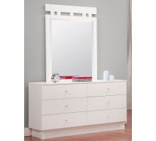 Bedroom Dresser Life Line Tiffanie Kids & Adults White Dresser | Xiorex