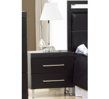 Bedside Tables Black Life Line Phantom Black Bedside Tables | Xiorex