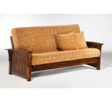Black Walnut Winter Futon All Sizes by Night and Day | Xiorex Futons