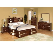 Bookcase Storage Bedroom Set | Xiorex