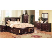 Bookcase Storage Bedroom Furniture Set | Xiorex