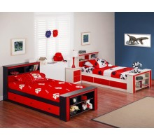 Boys Girls Twin Mates Bed & Double Queen Tango Mates Beds by Life Line