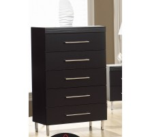 Chest of Drawers Black Life Line Phantom Black Chest of Drawers | Xiorex