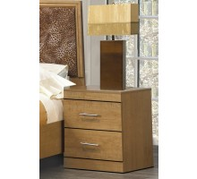 Chic Nightstands Life Line Madison Nightstands Cherry Cognac Espresso