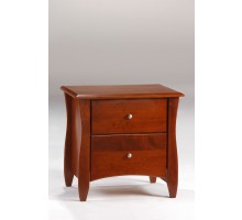 Clove nightstand Cherry for N&D Spices Bedroom Furniture Sets | Xiorex