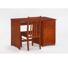Clove Student Desk & Chair Cherry for N&D Spices Bedroom Sets | Xiorex