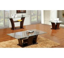 Columba 3 Piece Coffee Table Set with Sofa Console Table | Xiorex