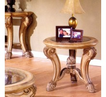 Corvi Glass Top Round End Tables Mississauga | Xiorex