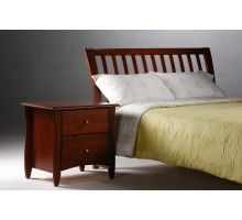 Curved Headboard Bed