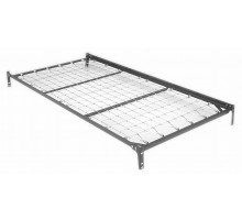 Deluxe Link Deck Top Spring w Angle Up Side Rails & 2 Cross Supports