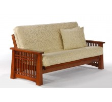 Futon Frames Night and Day Solstice Futon Frames Cherry | Xiorex