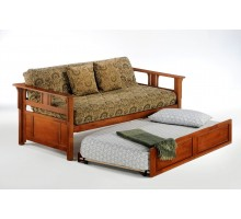 Guest Daybed Night and Day Teddy Roosevelt Daybed Cherry with Trundle Guest Bed