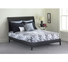 Java Platform Bed - Black Finish Bed in Full Queen & King Bed Sizes