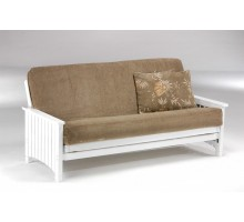 Key West Futon White Night and Day Key West Futon White | Xiorex