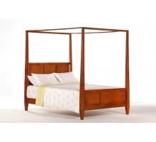 Laurel Bed Cherry by Night and Day | Xiorex Bedroom Furniture