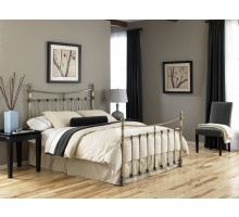 Leighton Bed - Metal Bed in Full Queen & King Sizes by Fashion Bed Group