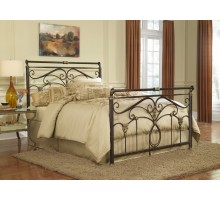 Lucinda Bed - Luxury Metal Bed in Full Queen & King Bed Size  Xiorex