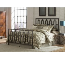 Miami Bed - Contemporary Metal Bed in Full Queen & King Size  Xiorex