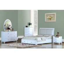 White Platform Bedroom Furniture Set | Xiorex