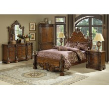 Poster Bedroom Set with Poster Queen Bed and Poster King Bed | Xiorex