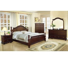 Poster Bedroom Set 127 w/ Nightstand Dresser Mirror and Chest | Xiorex