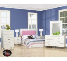 Priscilla White Bedroom Collection by Life Line Furniture | Xiorex