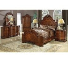 Poster Bedroom Set with Queen Poster Bed and Queen Poster Bed | Xiorex