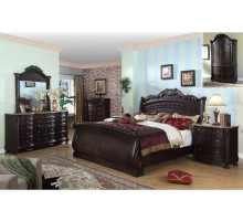 Sleigh Bedroom Set | Xiorex