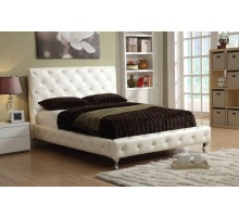 Upholstered Tufted Platform Bed Furniture | Xiorex