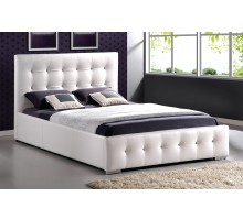 Upholstered Tufted Platform Bed Furniture Queen Double & King | Xiorex