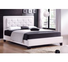 Upholstered Platform Bed Furniture with Tufted Headboard | Xiorex
