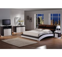 Chic Upholstered Platform Bedroom Set | Xiorex