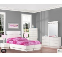 White Platform Bed Set Life Line Tiffanie Full Platform Bed Set | Xiorex