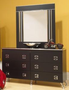 Black Dresser White Dresser Life Line Elvis Dresser Mirror Xiorex