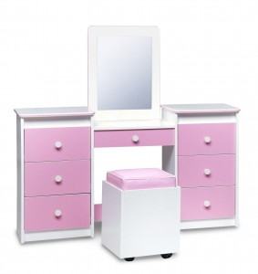 Sets Life Line Tango Bedroom Vanity Table Mirror Seat | Xiorex