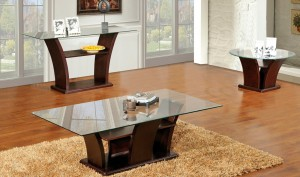 3 piece coffee table set with sofa console table | xiorex