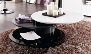 Gemini Round Modern Coffee Table Toronto Xiorex