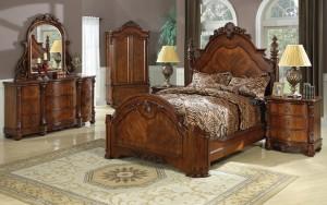 Poster Bedroom Furniture Set 111 | Xiorex