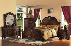 Poster Bedroom Furniture Set 117 | Xiorex