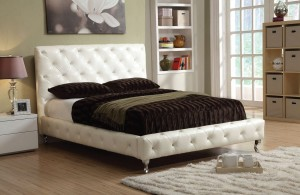 Upholstered Tufted Platform Bed Furniture 180 | Xiorex
