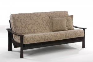 Futon Sofa Night & Day Fuji Futon Sofa Rosewood Chocolate | Xiorex