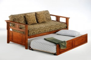Night and Day Teddy Roosevelt Daybed with Trundle Guest Bed | Xiorex