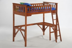 Night and Day Ginger Loft Bunk Twin Loft Bunk Bed & Full Loft Bunk Bed