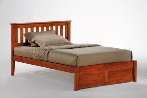 Night and Day Rosemary Bed Platform Bed w/ Slat Headboard | Xiorex Beds