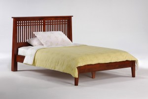 Solstice Bed Night and Day Spices Solstice Lattice Bed | Xiorex