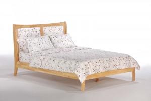 Upholstered Panel Chameleon Bed Night & Day Spices Upholstered Panel Bed