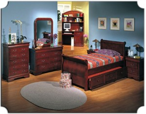 Sleigh Bedroom Furniture Set With Trundle Bed 179 | Xiorex