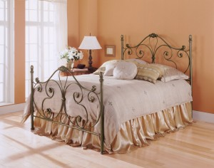 Aynsley Bed Poster Bed  in Majestique Finish by Fashion Bed Group