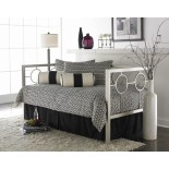 Astoria Daybed Contemporary Daybed in Champagne by Fashion Bed Group