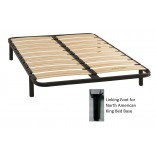 Bed Bases Gami Bed Base 27 Slats w/ Soundproofing Sockets | Xiorex